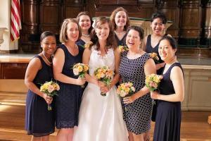Chen-Mosebrook Wedding Liz & Bridesmaids
