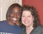 Sharon and Patricia